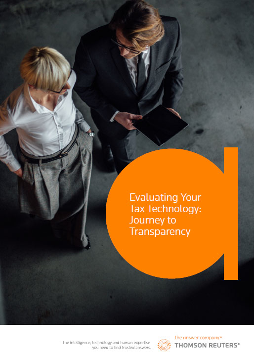 evaluating tax technology white paper first page