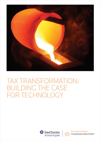 tax transformation whitepaper first page