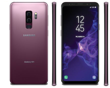 Leaked renderings of the Galaxy S9 and S9+