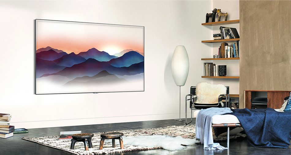 QLED Ambient Mode
