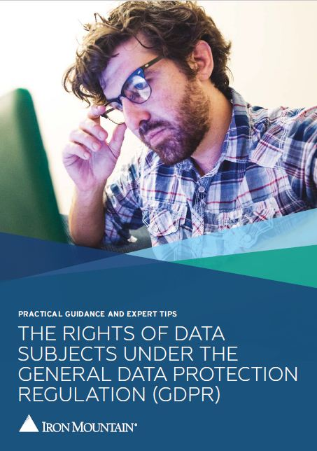 The Rights of Data Subjects under general data protection regulation (GDPR) front page
