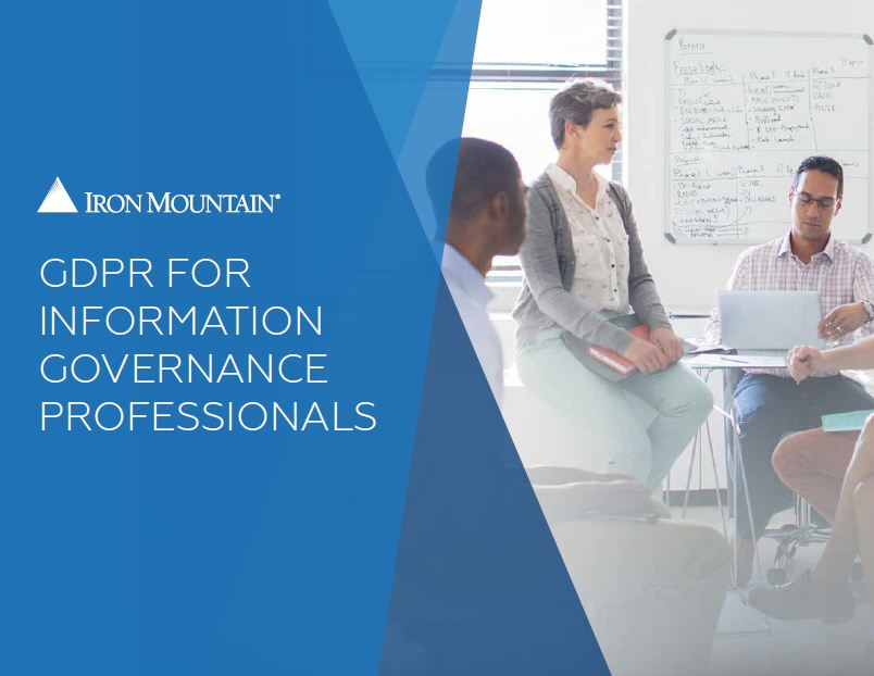 gdpr for information governance professionals