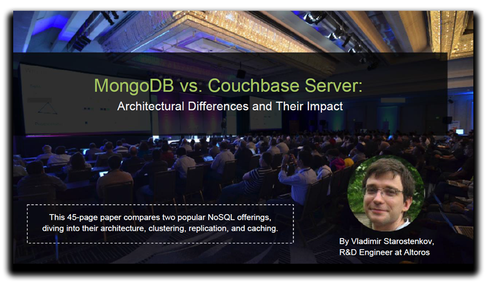 front page of mongodb vs. couchbase server whitepaper